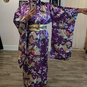 ❄️ 3/$25 Purple Geisha Kimono